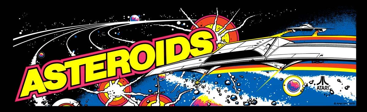 Nos Arcade Artworks préférés !! Asteroids-marquee