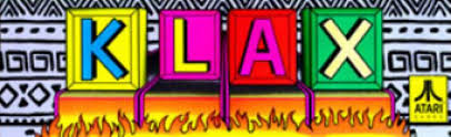 Image result for klax arcade banner