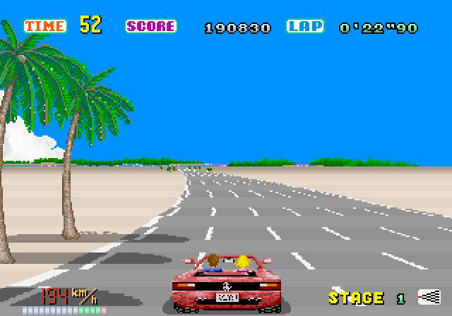 Car Driving Games >> Arcade Club - Out Run