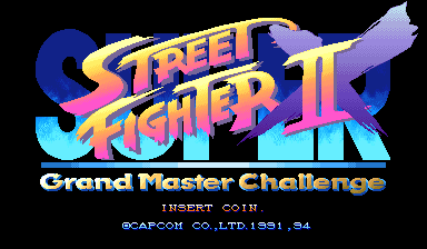 Super Street Fighter Ii X Grand Master Challenge